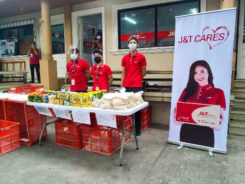 J&T Express launches own community pantry initiative