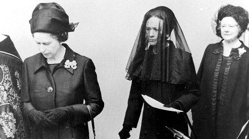 Die Geschichte royaler Trauerkleidung