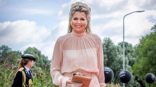 Königin Máxima: Ihr Look ist Sommer pur – doch etwas stimmt nicht ...