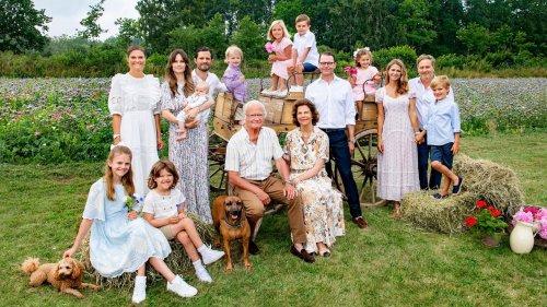 Royals: Deshalb ist das Familienfoto der Schweden eine Sensation