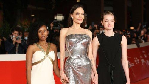 Angelina Jolie: Glamouröser Auftritt mit Töchtern in Rom