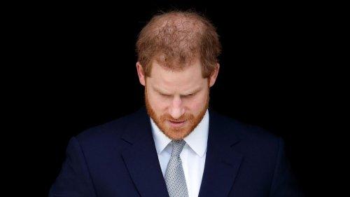 Er ist in London gelandet, um Prinz Philip zu verabschieden