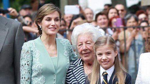 Königin Letizia: Ihre geliebte Großmutter Menchu ist gestorben