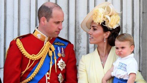 Prinz William + Herzogin Catherine: Sie fürchten um die Zukunft von Prinz Louis
