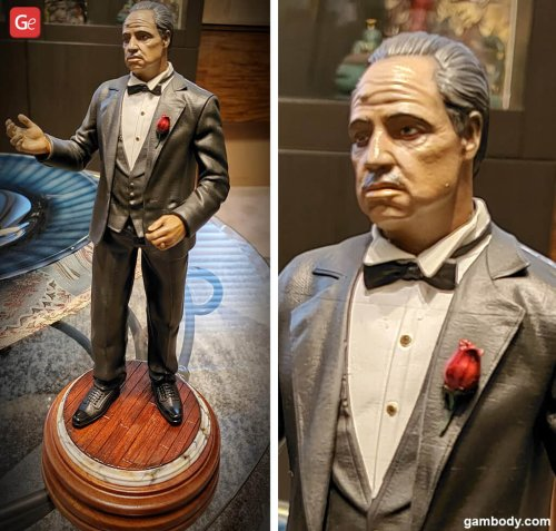 How to Paint Godfather Don Vito Corleone Figure You 3D Print