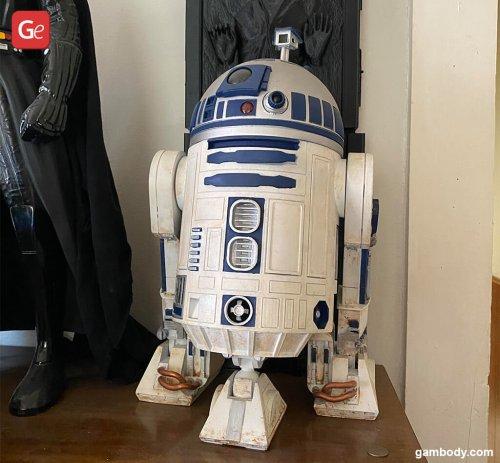 Top Star Wars Models for 3D Printing: R2-D2, Darth Vader, Boba Fett Made by David Ventola
