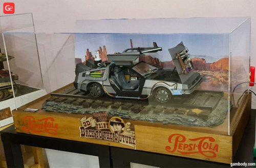 Add DeLorean 3D Print to Your Back to the Future Collection