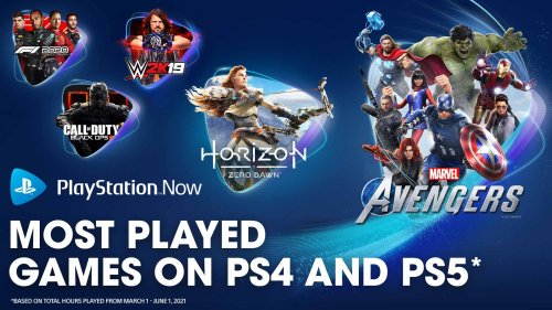 PlayStation Now most-played games of spring 2021 revealed