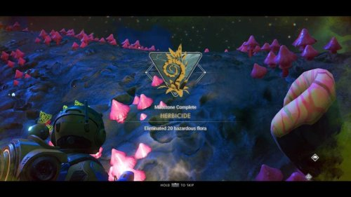 How to complete Herbicide in No Man's Sky Expedition Three: Cartographers | Gamepur