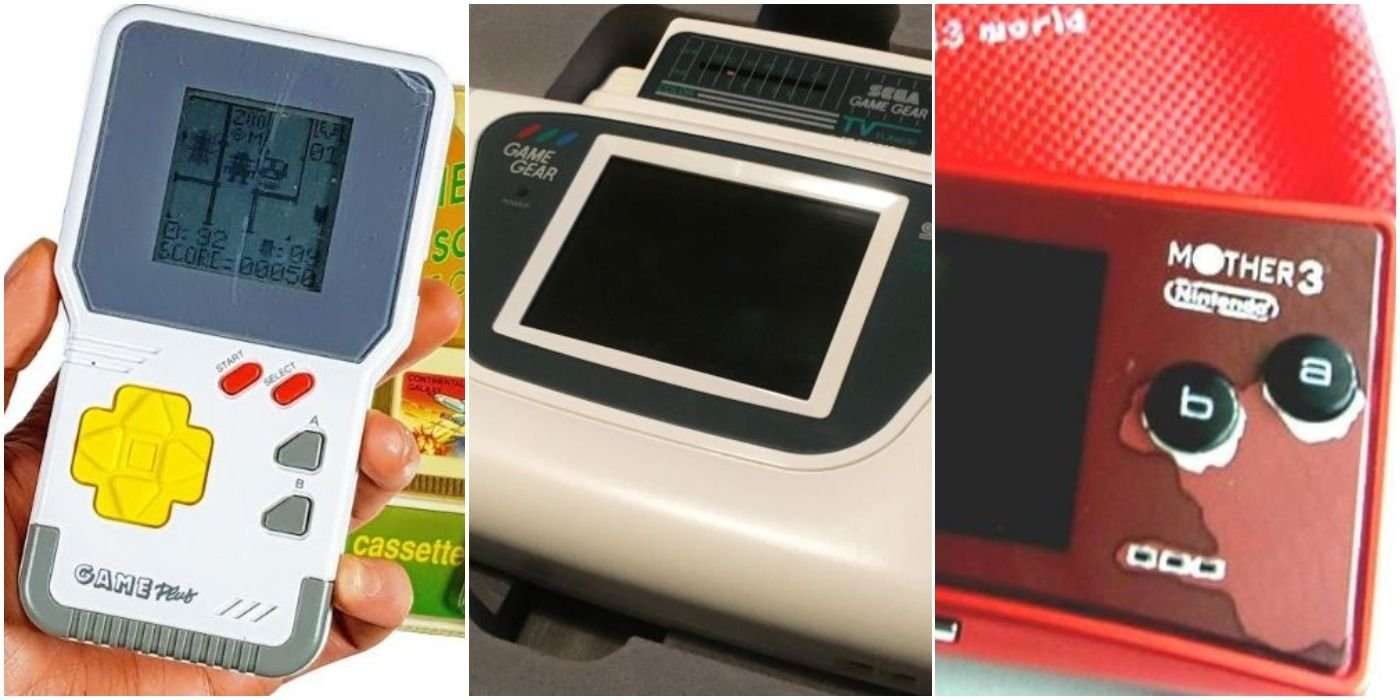 10 Of The Rarest Handheld Consoles (& How Much They're Worth)