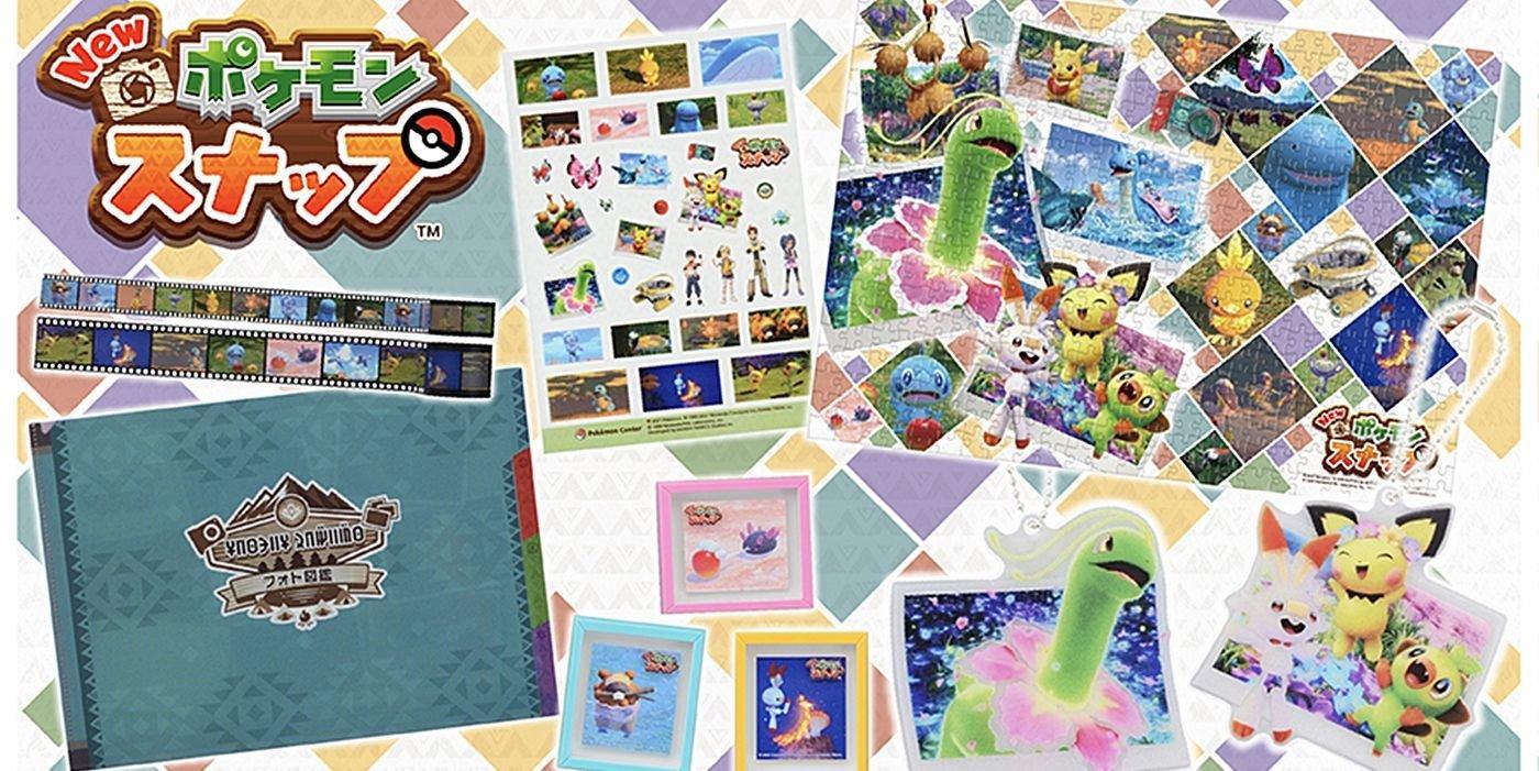 New Pokemon Snap Merchandise Revealed