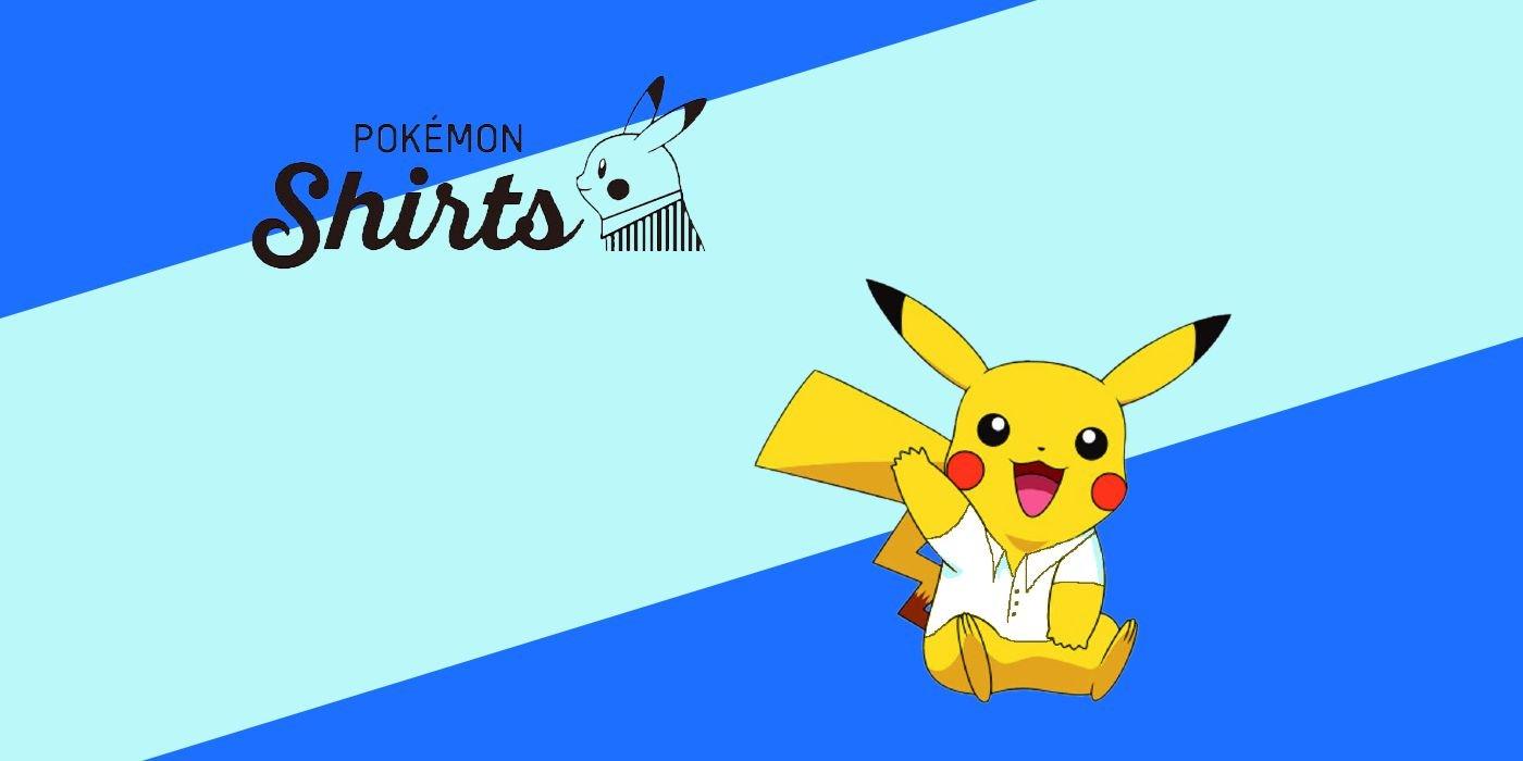 Pokemon and Original Stitch Partner for Pokemon 25th Anniversary Polo Shirts