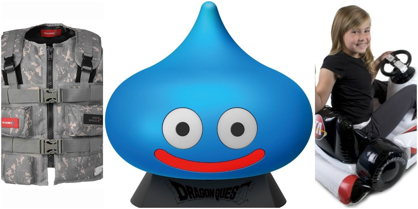 Dragon Quest Slime Controller & Other Weird Gaming Accessories Fans Never Knew Existed