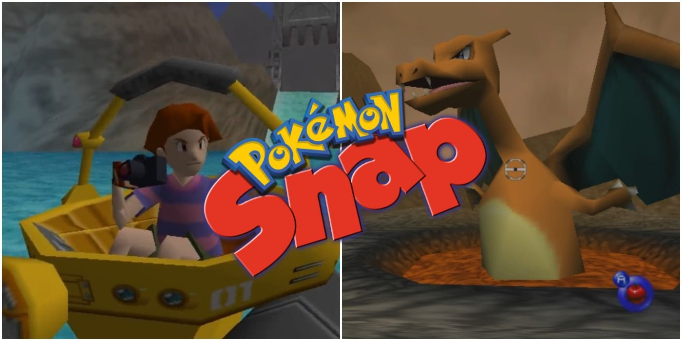 10 Things You Never Knew About The Original Pokemon Snap On The N64