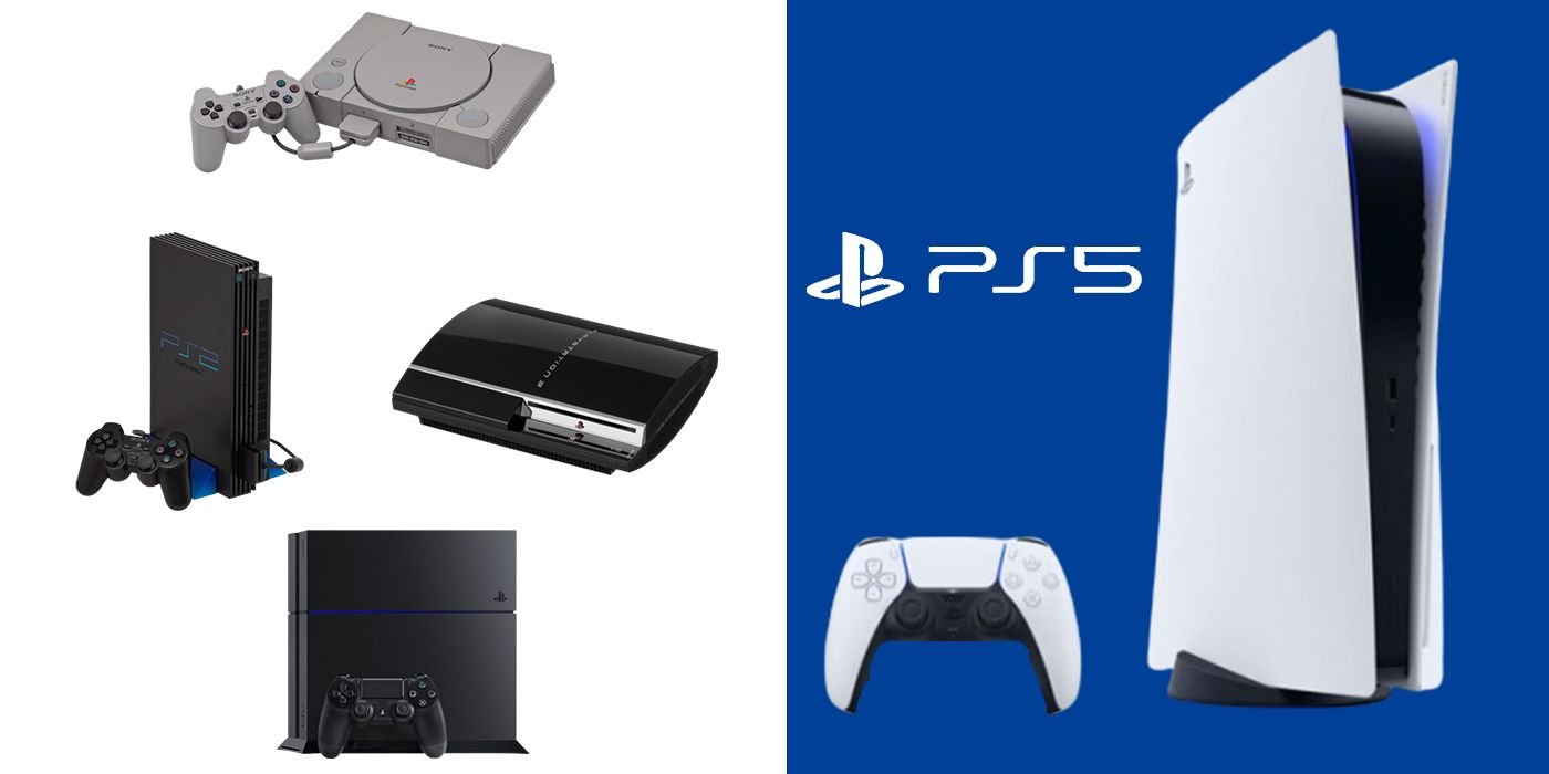 PS5: Size Comparisons of Every PlayStation Console