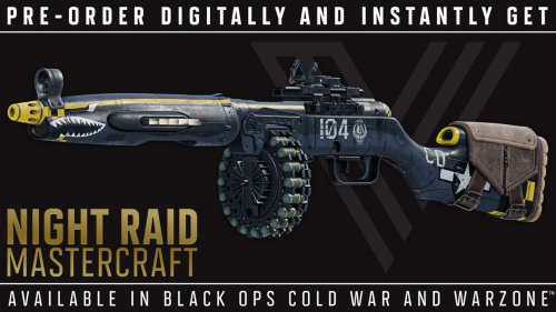 Call Of Duty: Vanguard Halloween Preorder Bonus Teased, As Mastercraft SMG Hits Next Evolution