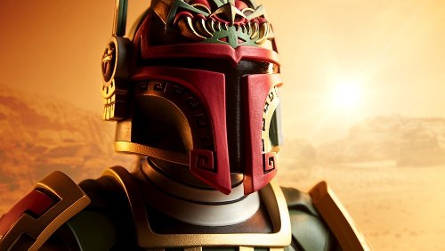 Stunning Boba Fett Mayan-Inspired Bust Is Up For Preorder