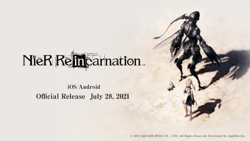 A New Nier Is Hier: Nier Reincarnation Is Out Now