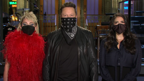 """Elon Musk Promises To """"Behave"""" On SNL This Weekend"""