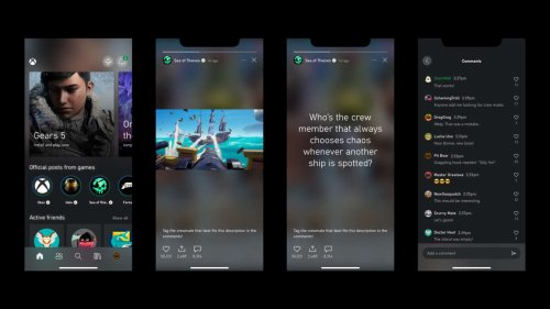 Xbox App Adds Story Feature For Official Game Hubs