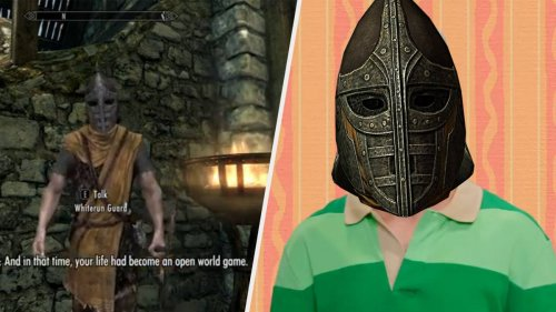 'Skyrim' Whiterun Guard Wants You To Know He's Proud Of You And Now I'm Crying