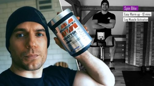 Henry Cavill Details His Nutrition And Workout Regime
