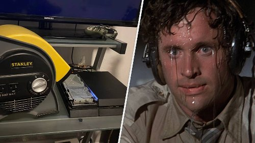 Gamer Resorts To Power Tools After PlayStation 4 Fan Breaks
