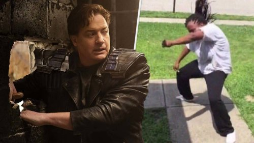 Brendan Fraser's Comeback Now Has Its Own Song, And It Slaps