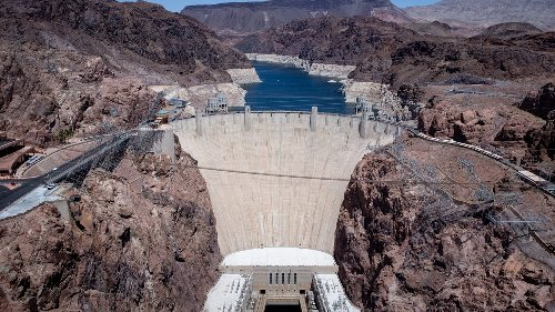 Hoover Dam, a symbol of the modern West, faces an epic water shortage