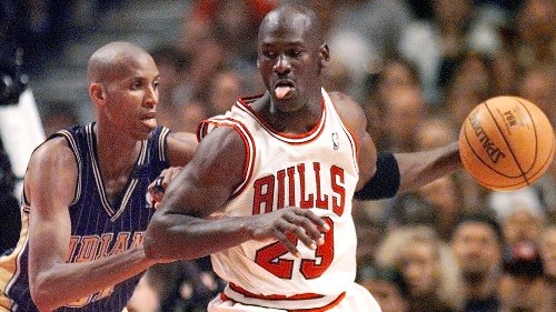 Reggie Miller says he would have never teamed up with Michael Jordan if he was recruited