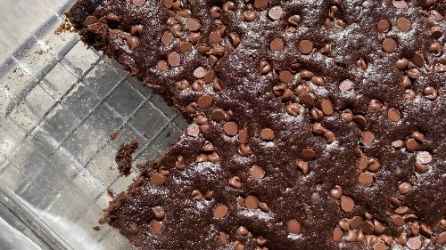 Brownie secret: Black beans replace fat while adding health benefits
