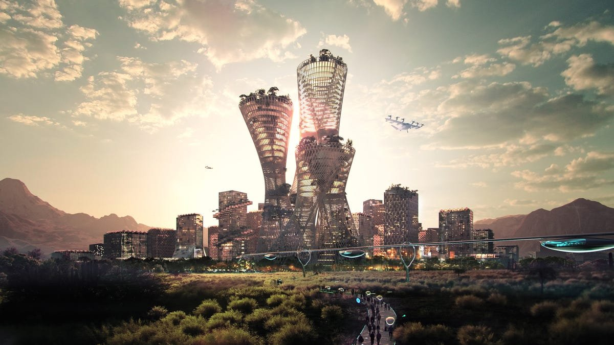 Former Walmart president reveals plan for $400-billion Utopian city in the US desert