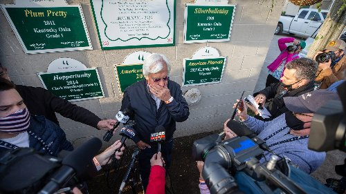 'I am truly sorry': Bob Baffert issues apology for handling of Medina Spirit announcement