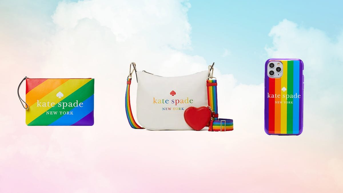 This Kate Spade line supports the LGBTQ community—and it's on sale for Pride Month 2021
