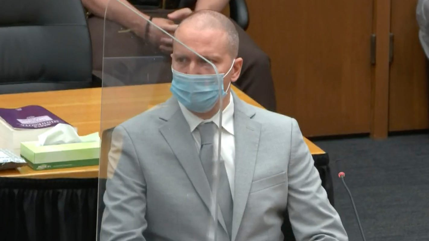 Derek Chauvin Gets 22.5 Years For the Murder of George Floyd - cover