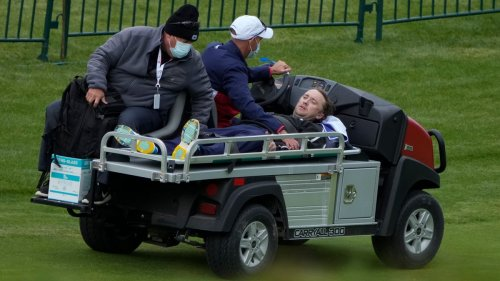 'Harry Potter' actor Tom Felton carted off after collapse at celebrity golf event