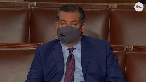 Ted Cruz slammed on Twitter for allegedly sleeping during Joe Biden's speech to Congress