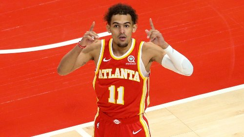 Hawks' Trae Young showing no fear of the moment in first career playoff games