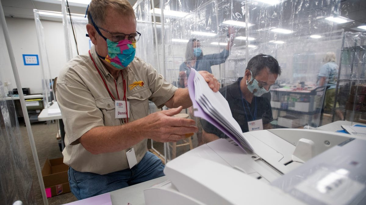 After 7 years of voting by mail, Colorado voters aren't taken in by absentee ballot drama