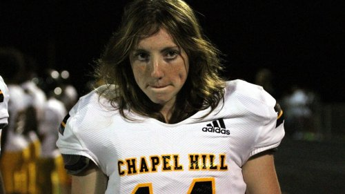 North Carolina girl goes viral after starting at safety for varsity HS football team