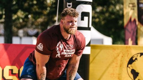United Kingdom's Tom Stoltman wins 2021 World's Strongest Man competition for his mother