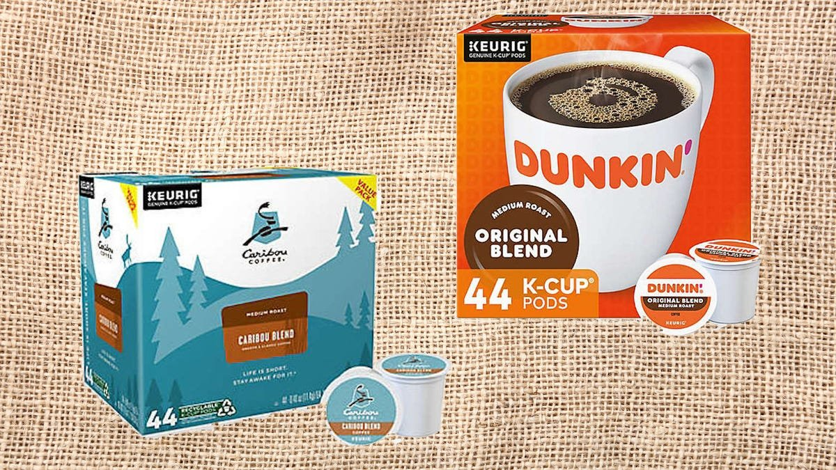 Tons of K-Cups from Caribou, Dunkin' and more are on mega-sale in competition with Prime Day 2021