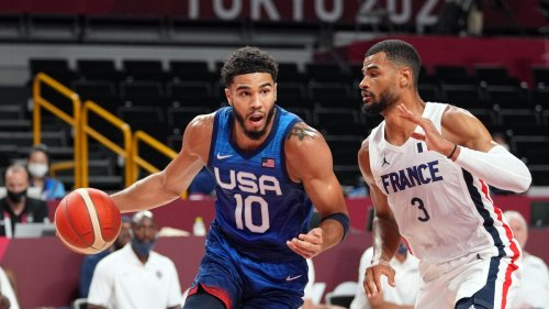 US men's basketball team falls to France for first Olympics loss since 2004