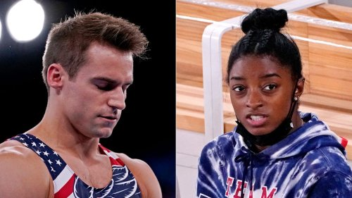'I'm really proud of her': USA Olympic gymnast Sam Mikulak can empathize with Simone Biles