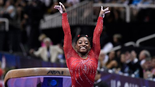 Simone Biles toying with returning as an event specialist at 2024 Paris Olympics