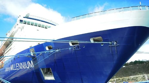 Two passengers test positive for COVID on Celebrity Millennium 'fully vaccinated' cruise