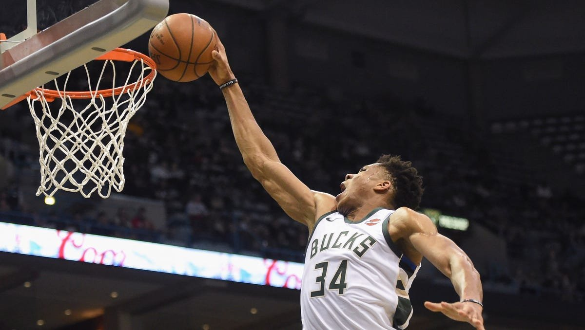 The Book of Giannis: A catalog of Antetokounmpo's best plays with the Milwaukee Bucks