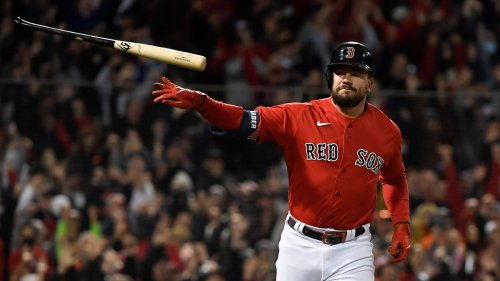 Red Sox continue record grand slam barrage: Kyle Schwarber's Game 3 blast their third in two games
