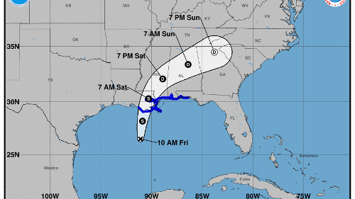 Tropical Storm Claudette forms, threatens to bring dangerous flooding to Gulf Coast