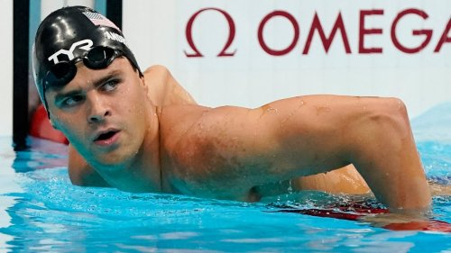 Opinion: USOPC gives in to arrogant, unvaccinated Olympian Michael Andrew as he skips mask. Big mistake.